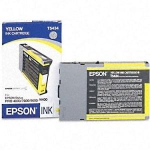 ORIGINAL Epson Cartuccia ink jet yellow T543400 T5434 110ml