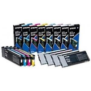 ORIGINAL Epson Cartuccia ink jet cyan  chiaro  T544500 T5445 220ml