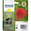 ORIGINALE Epson Cartuccia INK JET yellow C13T29844010 T2984 ~180 PAG  3.2ml