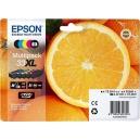 ORIGINALE Epson Multipack nero   cyan   magenta   yellow C13T33574010 T3357