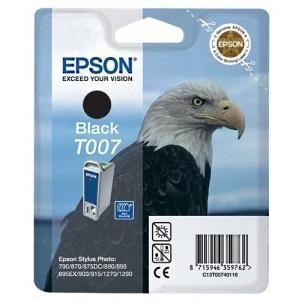 ORIGINAL Epson Cartuccia ink jet black T00740110 T007 16ml