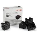 ORIGINALE Xerox 108R Color Stix BLACK XEROX 108R00935 / 00935 - 8600 PAG. Solid Ink, pacco da 4 pezzi