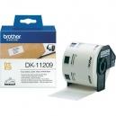 ORIGINAL Brother Etichette  DK-11209  etichette in carta per indirizzi, 29x62 mm bianco 800 et./ruolo