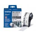 ORIGINAL Brother Etichette  DK-22210  etichetta a lunghezza continua, 29mm x 30,48m bianco