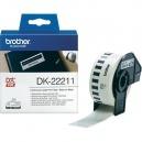 ORIGINAL Brother Etichette  DK-22211  etichetta a lunghezza continua, 29mm x 15,24 m bianco