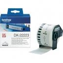 ORIGINAL Brother Etichette  DK-22223  etichetta a lunghezza continua, 50mm x 30, 48m bianca