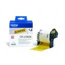 ORIGINAL Brother Etichette giallo DK-22606  etichetta a lunghezza continua, 62mm x 15,24m