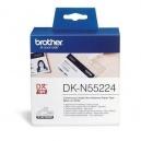 ORIGINAL Brother Carta  DK-N55224  Nastro, non adesivo, 54mm x 30,48m bianco