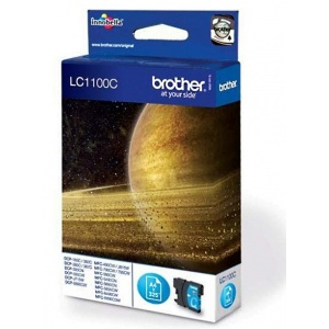 ORIGINALE Brother Cartuccia cyan LC-1100c LC 1100C - 325K