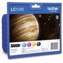 ORIGINAL Brother Value Pack bk/m/c/y LC1240VALBPDR LC1240 confezione multi: bk/c/m/y