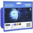 ORIGINAL Brother Value Pack nero+colore LC1280XLVALBPDR 5833892 4 cartucce d'inchiostro LC-1280XL: BK+C+M+Y