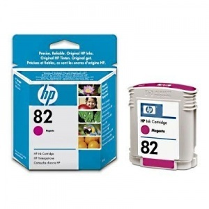 ORIGINALE HP C4912A Cartuccia ink jet magenta 82 69ml