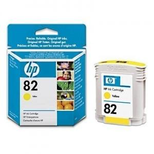 ORIGINALE HP C4913A Cartuccia ink jet yellow 82 69ml