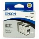 ORIGINALE Epson Cartuccia INK JET nero  foto  C13T580100 T5801 80ml