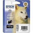ORIGINALE Epson Cartuccia INK JET nero  chiaro  C13T09674010 T0967 11.4ml
