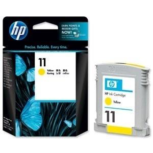 ORIGINALE HP C4838A Cartuccia ink jet yellow 11 28ml