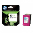 ORIGINALE HP Cartuccia ink jet colore CH564EE 301 XL ~330 PAG 6ml