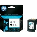 ORIGINAL HP Cartuccia ink jet black CH561EE 301 ~ 190 pag 3ml