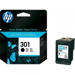 ORIGINALE HP CH561EE Cartuccia ink jet HP301 black CH561 EE 301 / 561 - 190 pag 3ml