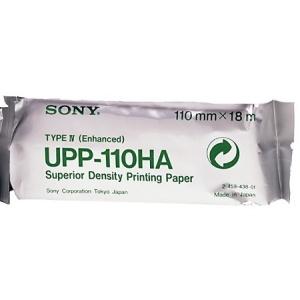 ORIGINALE Sony UPP-110HA Carta  UPP110HA  Carta termica, Bobina, 110mm x 18m