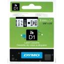 ORIGINAL DYMO nastro laminato nero su bianco S0720680 40913 9mm x 7m, nastro standard D1
