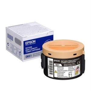 ORIGINAL Epson toner laser  black S050651 0651 ~2200 pag