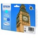 ORIGINALE Epson Cartuccia INK JET cyan C13T70324010 T7032 ~800 PAG
