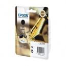 ORIGINALE Epson Cartuccia INK JET nero C13T16214010 T1621 ~175 PAG  5.4ml standard