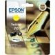 ORIGINALE Epson C13T16244012 / T16244012 Cartuccia ink jet yellow T16244010 T1624 165 pag 3.1ml standard
