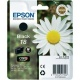 ORIGINAL Epson C13T18014012 Cartuccia ink jet black T18014010 T1801 ~175 pag 5.2ml standard