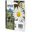 ORIGINALE Epson Cartuccia INK JET cyan C13T18024010 T1802 ~180 PAG  3.3ml standard