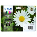 ORIGINALE Epson Multipack nero   cyan   magenta   yellow C13T18064010 T1806 4 cartucce INK JET: T1801 + T1802 + T1803 + T1804