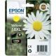 ORIGINALE Epson T1814 - C13T18144012 Cartuccia ink jet yellow C13T18144010 - 450 pag 6.6ml Cartucce  ink jet XL