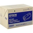 ORIGINALE Epson toner nero C13S050691 0691 ~ 10000 PAG