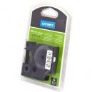 ORIGINAL DYMO nastro laminato nero su bianco S0718060 16959 12mm x 5,5m, Poliestere-D1-Nastro