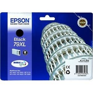 ORIGINAL Epson C13T79014010 Cartuccia ink jet black T7901 2600 pag 41.8ml 79XL