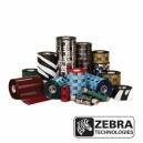 ORIGINAL Zebra Nastro colorato nero 800132-002 12PCK 2300 WAX 12 Rotoli, pura cellulosa, 56,9 mm x 74 m, Diametro: 12,7 mm
