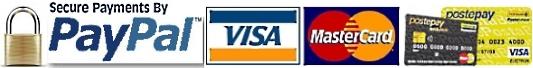 paga con carta di credito o Paypal